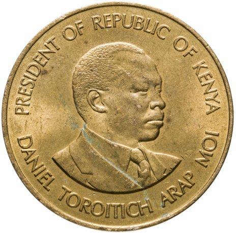 купить Кения 10 центов (cents) 1984