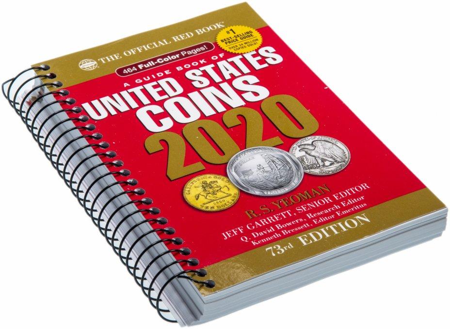 """купить Каталог монет США 2020 """"The official Red Book"""" 73-е издание"""