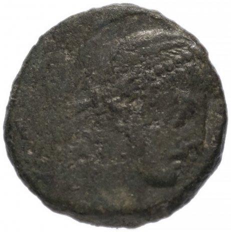 купить Римская Империя Аркадий 395–408 гг 4 денария (реверс: Виктория идет влево, держит венок и пальмовую ветвь)