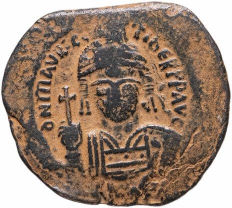 купить Византийская империя, Маврикий Тиберий, 582-602 годы, фоллис.