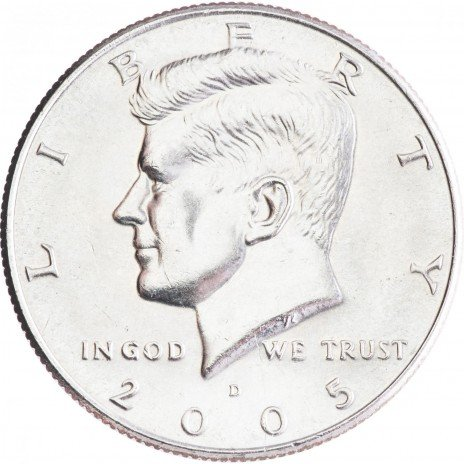 купить США 1/2 доллара 2005 D