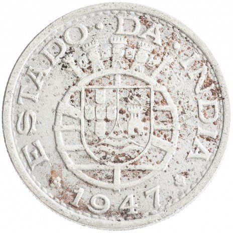 купить Португальская Индия 1/2 рупии 1947