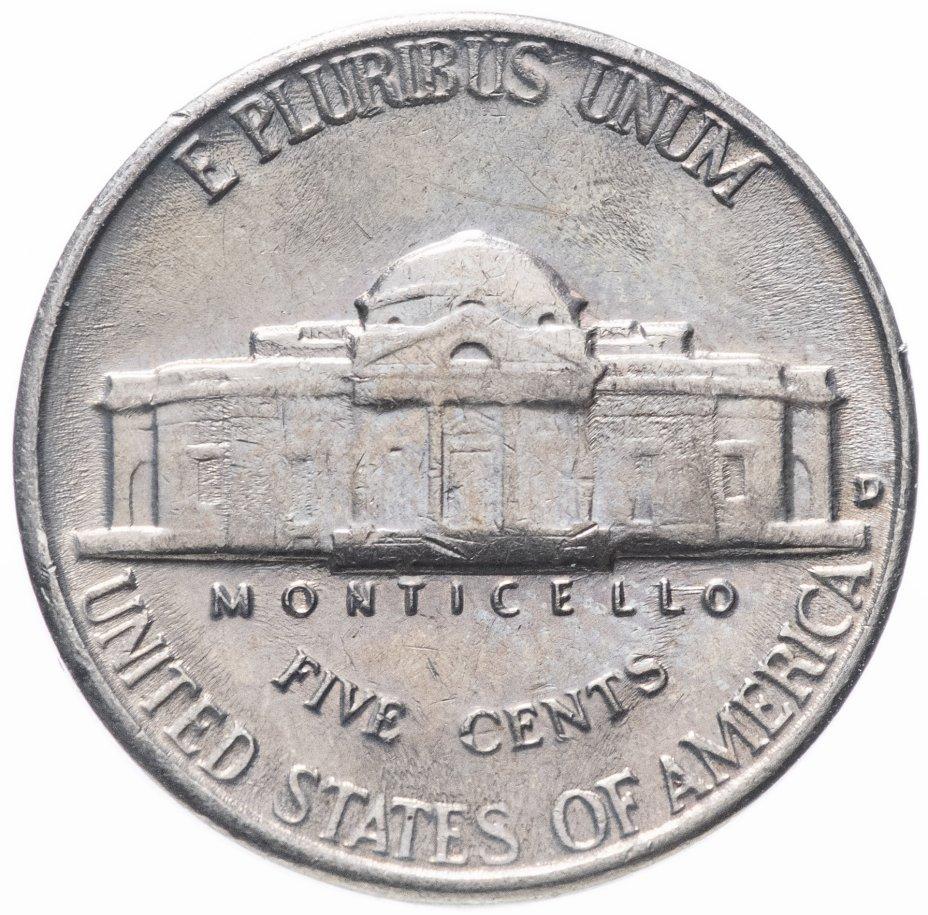 купить США 5 центов 1959 D Jefferson Nickel