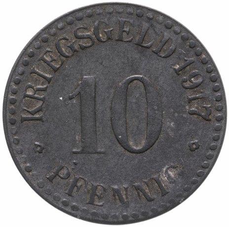 купить Германия, Кассель 10 пфеннигов 1917