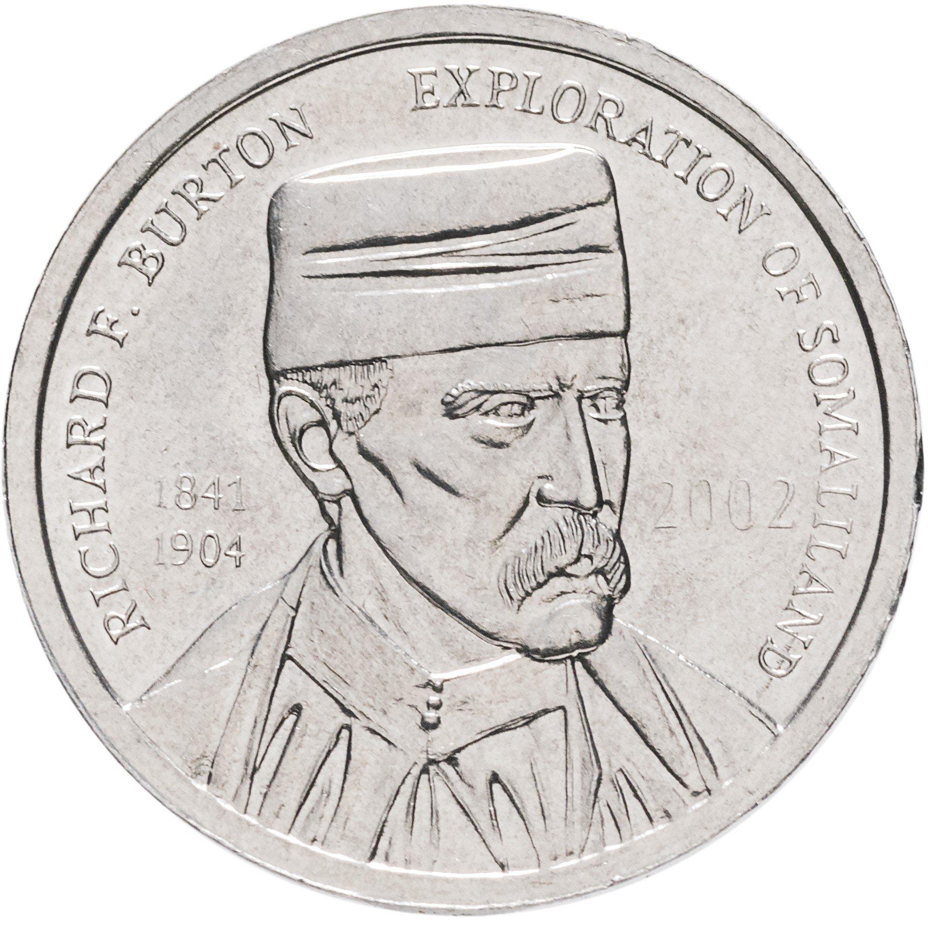 Сомалиленд 5 шиллингов 2002 титаник