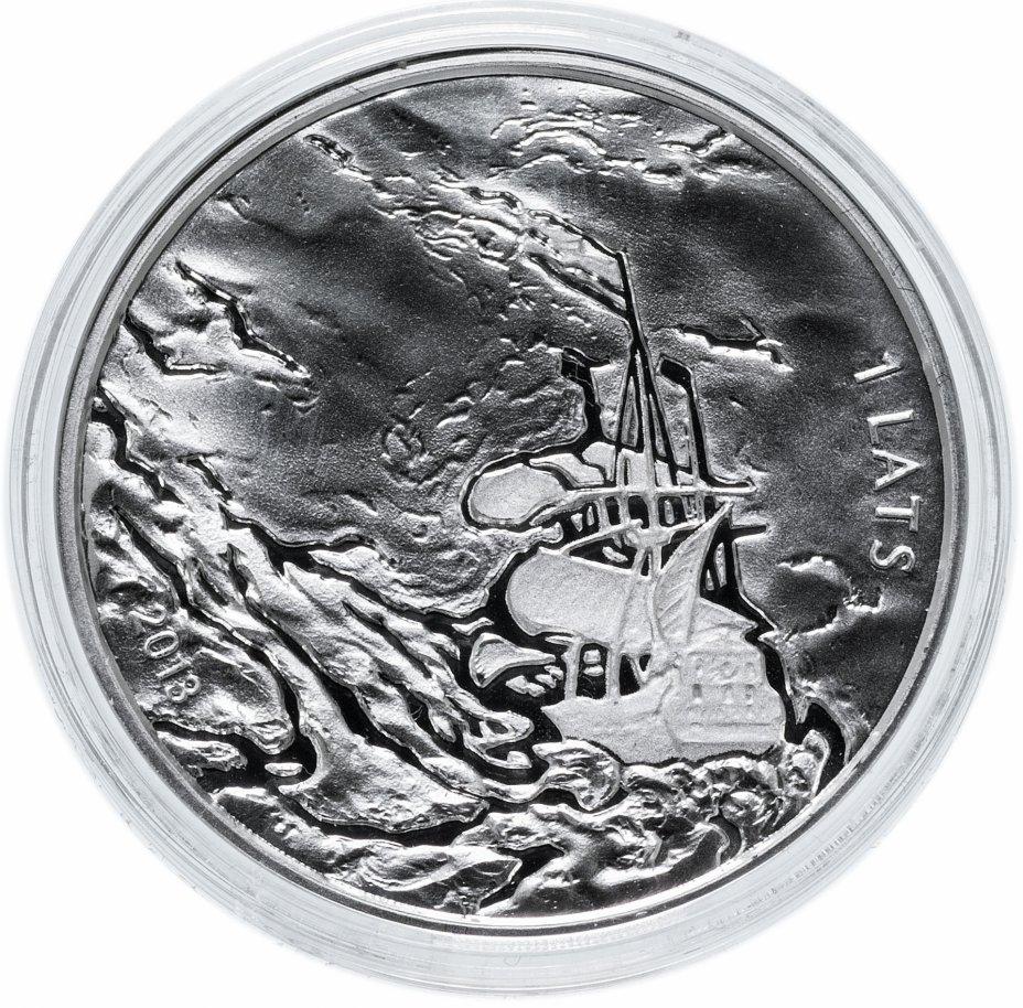 купить Латвия 1 лат 2013 «200 лет со дня рождения Рихарда Вагнера», серебро