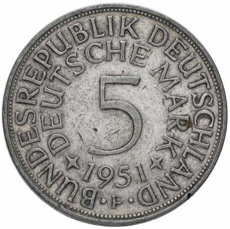 купить Германия (ФРГ) 5марок 1951