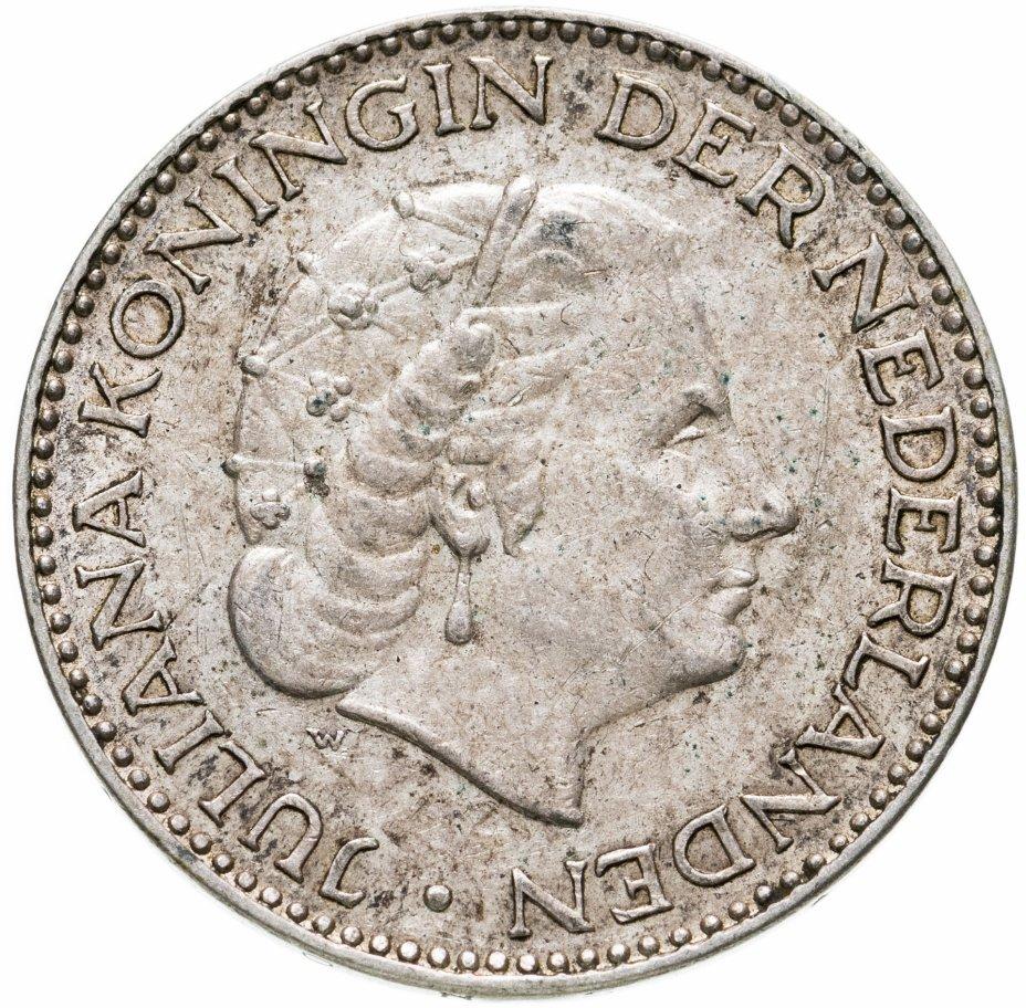 купить Нидерланды 1 гульден 1954