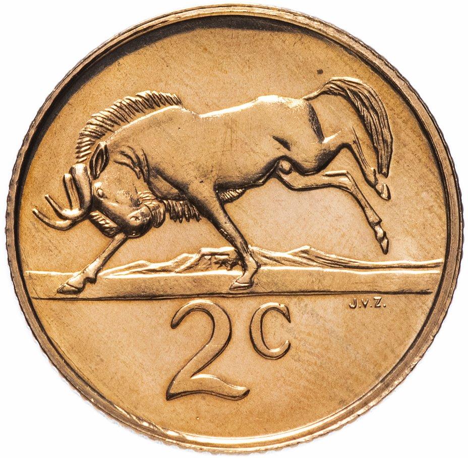 купить ЮАР 2 цента (cents) 1988