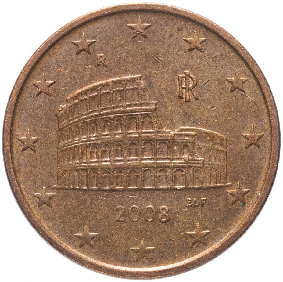 купить Италия 5 евро центов (euro cent) 2002-2019, случайная дата