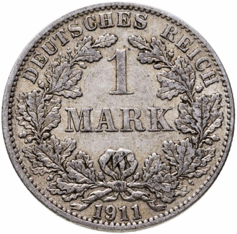 """купить Германия, Германская Империя 1 марка 1911 """"А"""" - Берлин"""