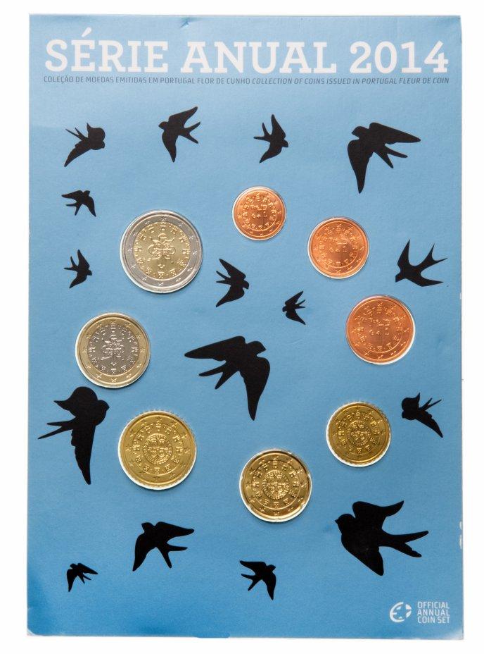 купить Португалия набор из 8 монет 2014, в буклете