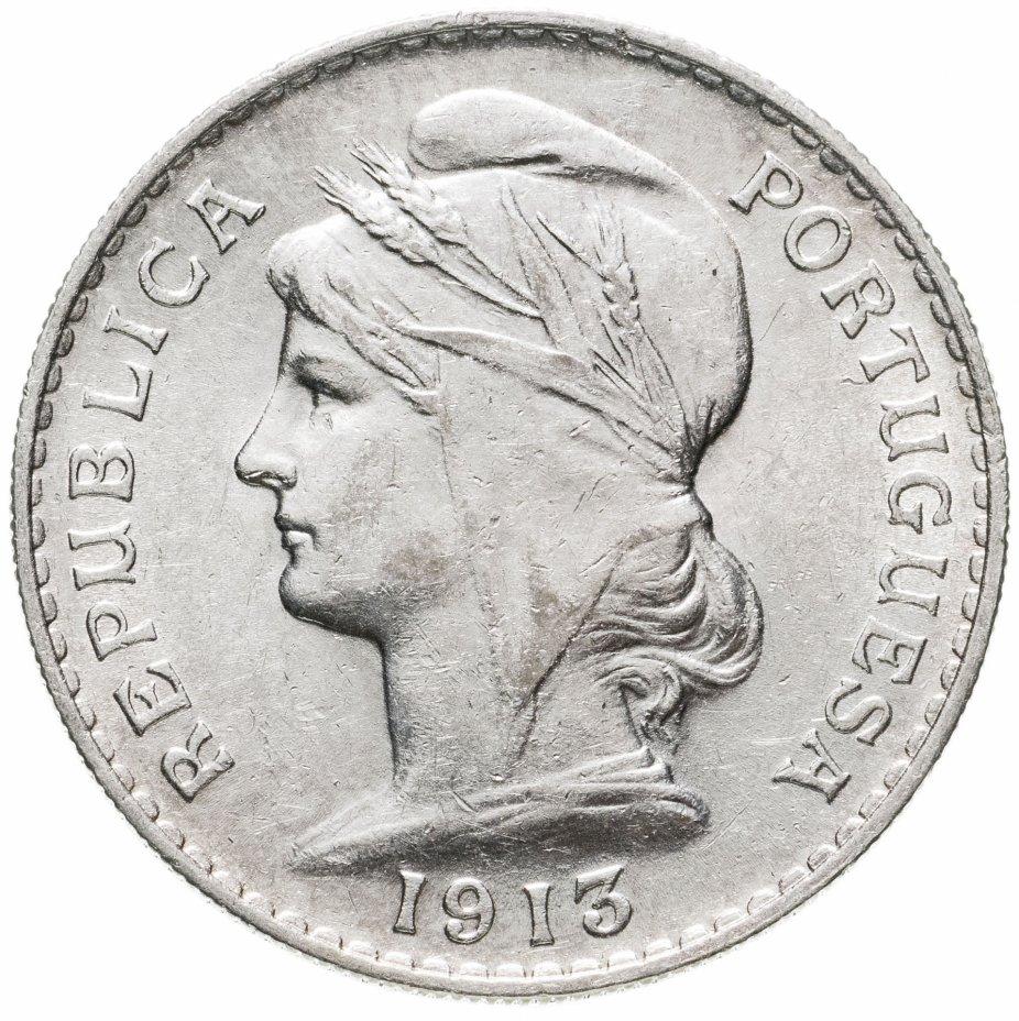 купить Португалия 50 сентаво 1913