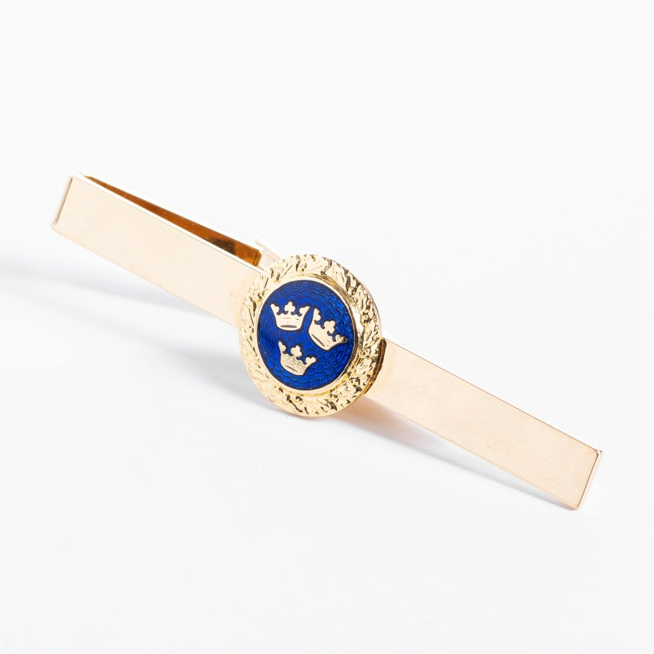 купить Зажим для галстука декорированный гербом Швейцарии, сплав металла, Западная Европа, 2000-2015 гг.