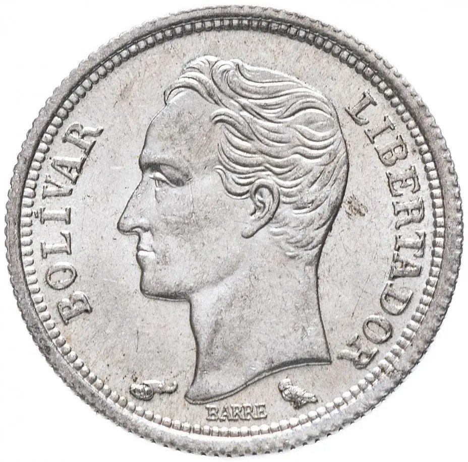 купить Венесуэла 25 сентимо (centimos) 1954-1960, случайный год