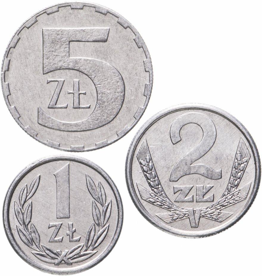 купить Польша, набор из 3 монет 1989-1990