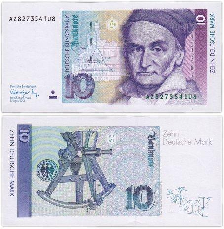 купить Германия ФРГ 10 марок 1991 (Pick 38b)