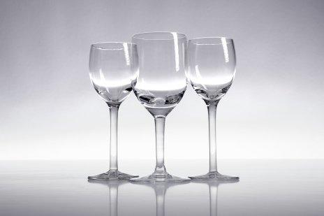 купить Набор из трех рюмок разной формы, стекло, Китай, 1990-2010