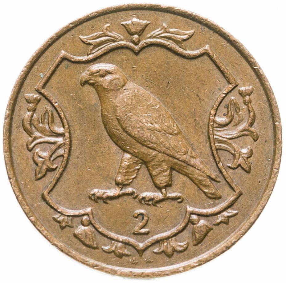 купить Остров Мэн 2 пенса (pence) 1987 AA