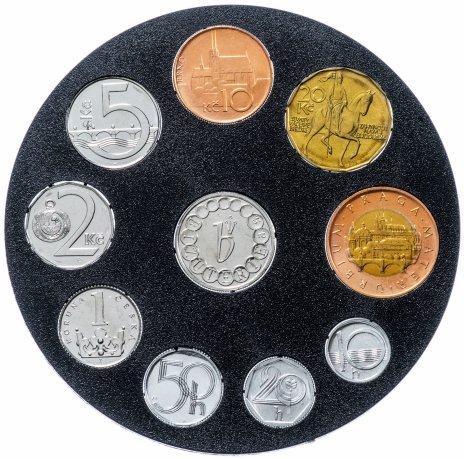 купить Чехия годовой набор 1994 года 9 монет в буклете