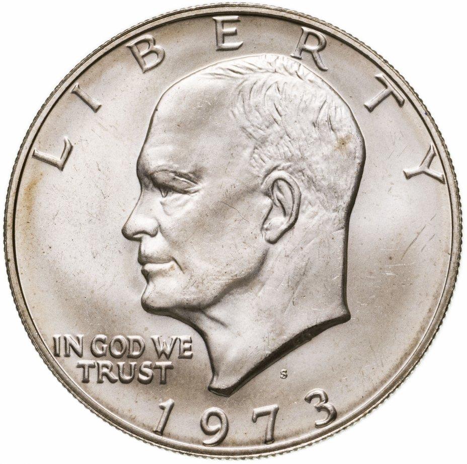 купить США 1 доллар (dollar) 1973 S