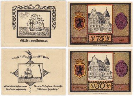 купить Германия (Ольденбург) набор из 2-х нотгельдов 1921