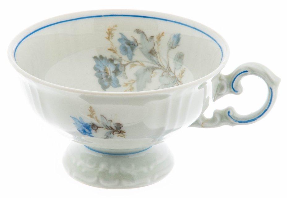 """купить Чашка чайная с цветочным декором, фарфор, деколь, мануфактура """"Felda Rhon"""", Германия 1933-1937 гг."""