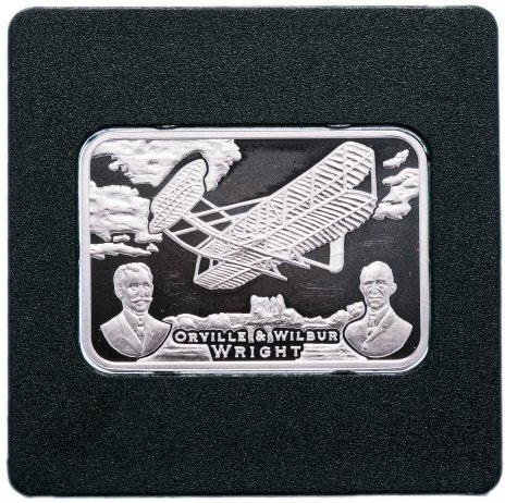 """купить Остров Ниуэ 1 доллар 2011 """"Как человек покорял небо -  самолет, братья Райт"""""""