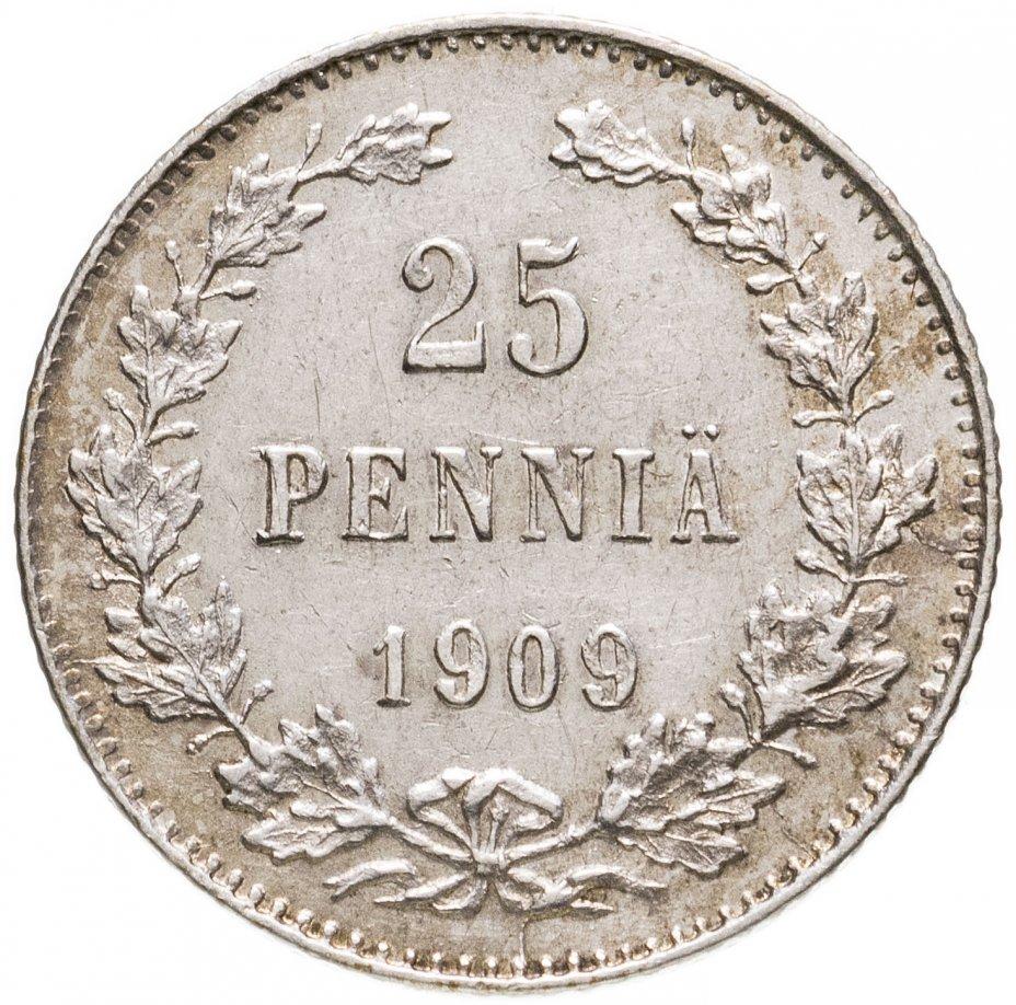 купить 25 пенни (pennia) 1909 L