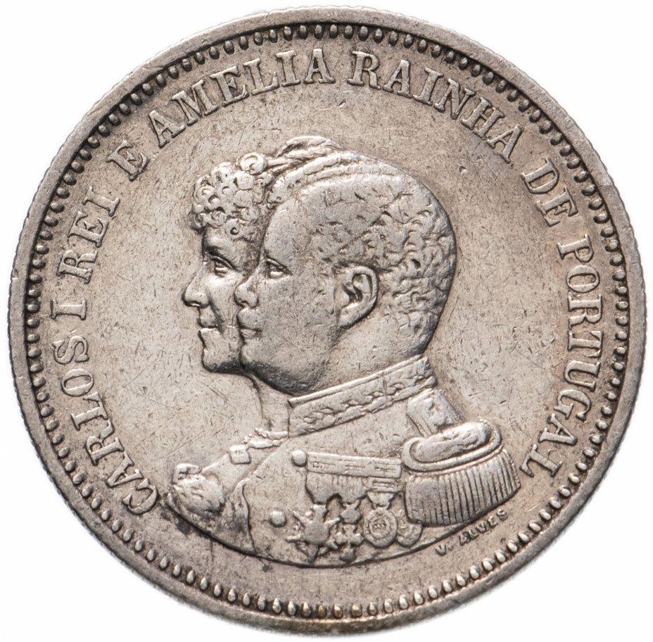 купить Португалия 200 рейс (reis) 1898 год 400-летие открытия Индии