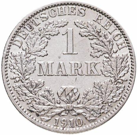 """купить Германия (Германская Империя) 1 марка 1910 """"А"""""""