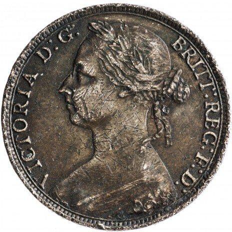 купить Великобритания  1 пенни 1891