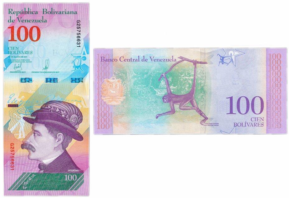купить Венесуэла 100 боливар 2018 (Pick **) 22.03.2018