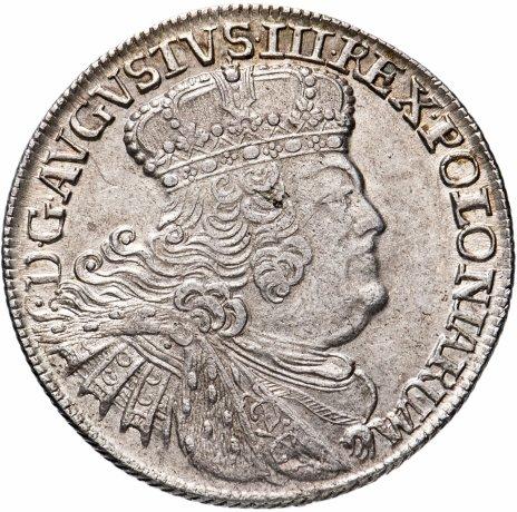 купить Польское королевство 1 орт 1755 Август III