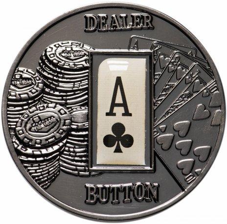 """купить Жетон Палау 1 доллар """"Покер"""""""