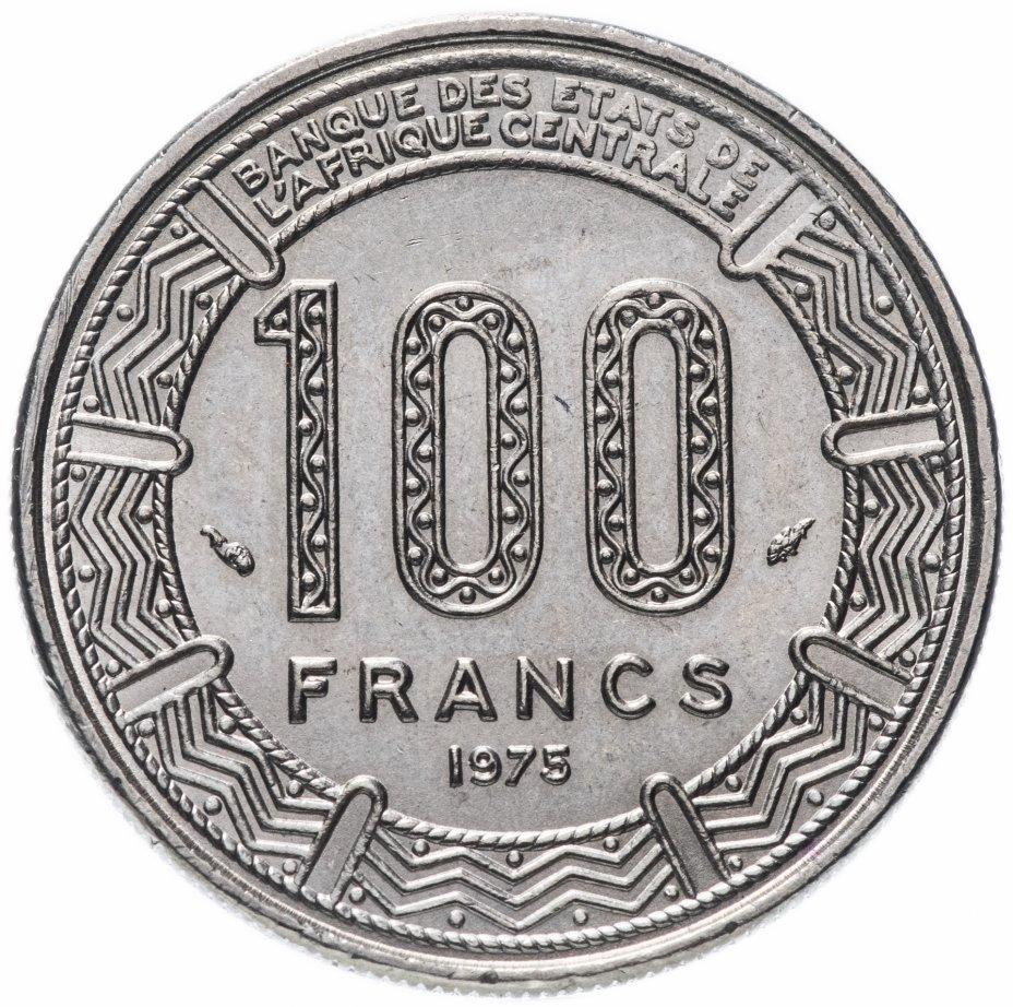 купить Габон 100 франков 1975