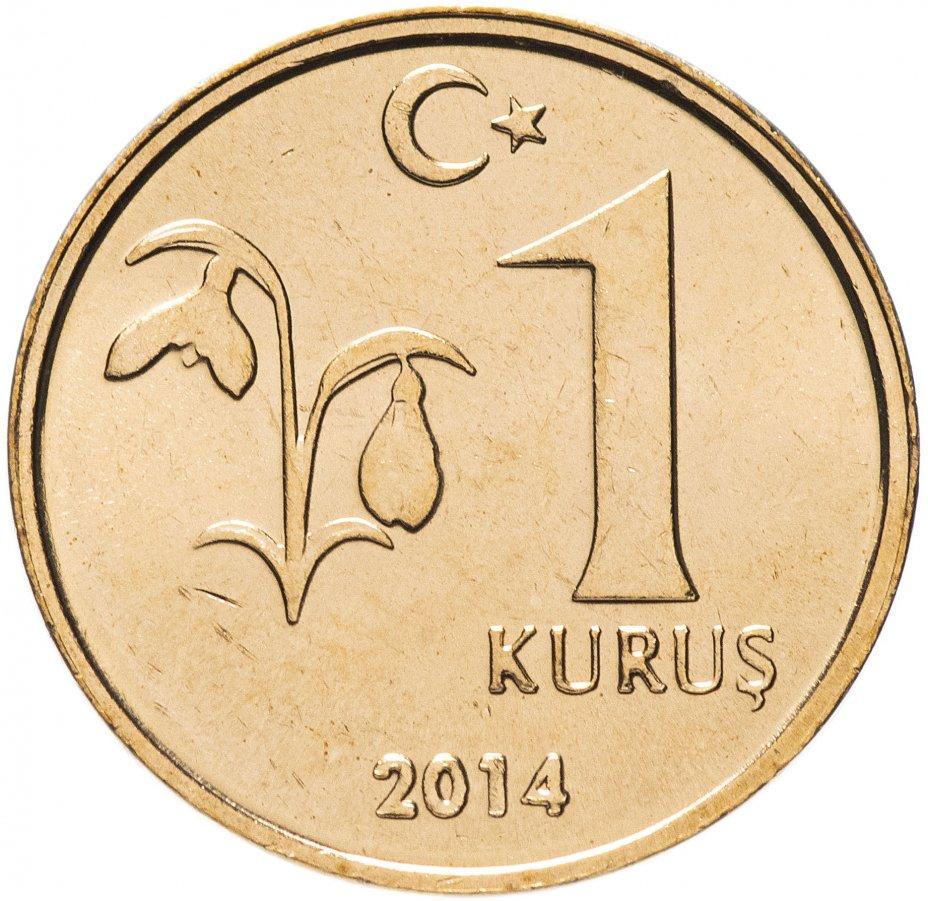 купить Турция 1 куруш (kurus) 2014