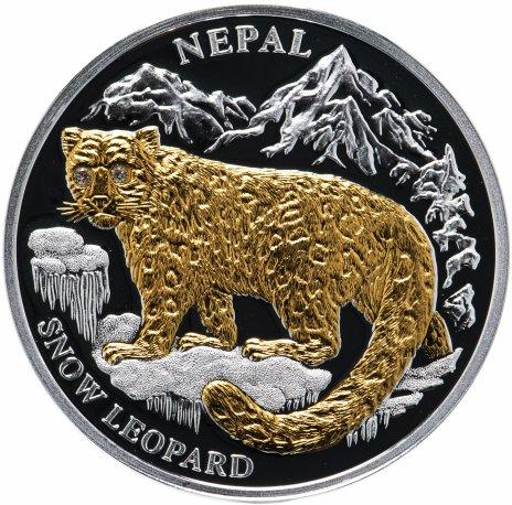"""купить Либерия 10 долларов 2005 """"Вымирающие виды животных - Леопард"""""""