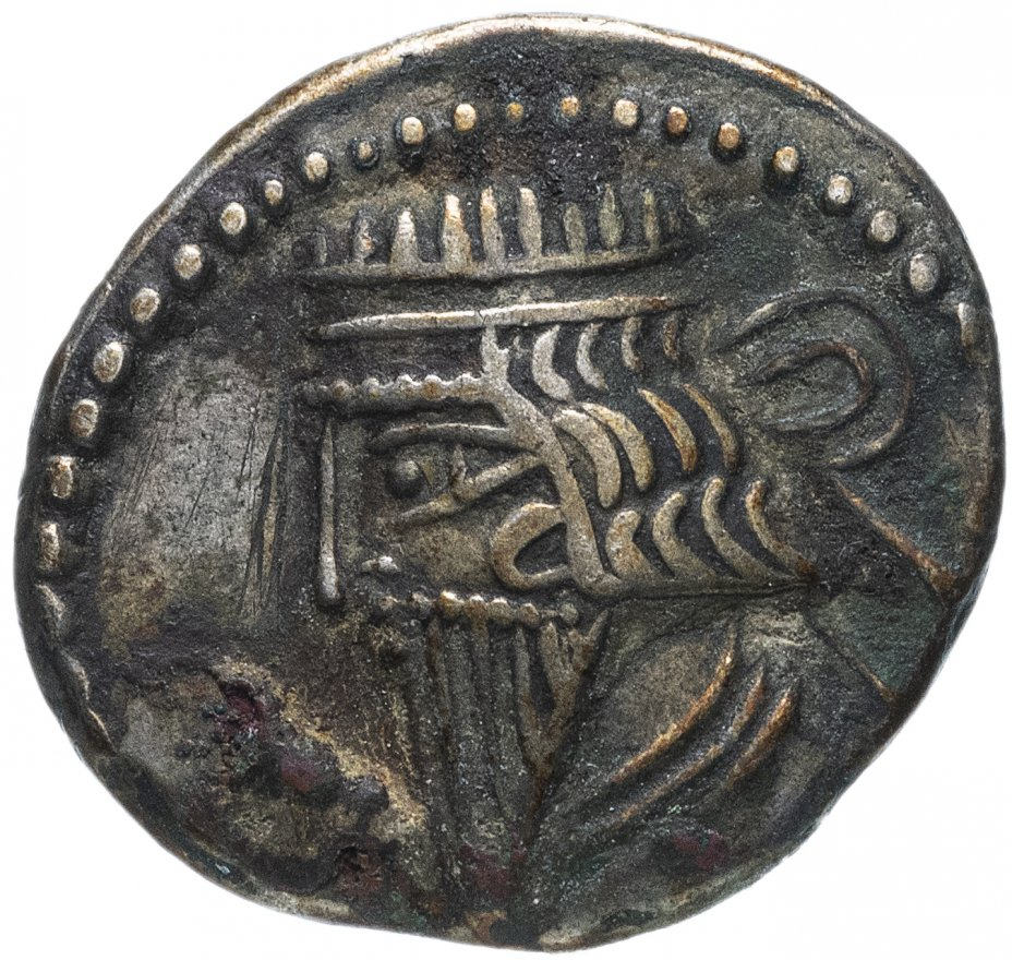 купить Парфянское царство, Митридат V, около 140 года, драхма.