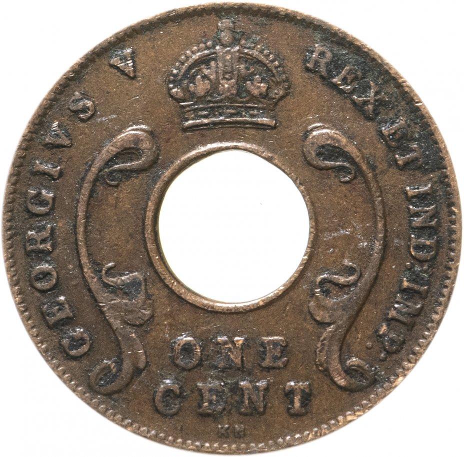 """купить Британская Восточная Африка 1 цент (cent) 1924 """"KN"""""""