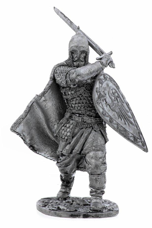 купить Оловянный солдатик, Рязанский воевода боярин Евпатий Коловрат, 1238 год, Россия, 2021