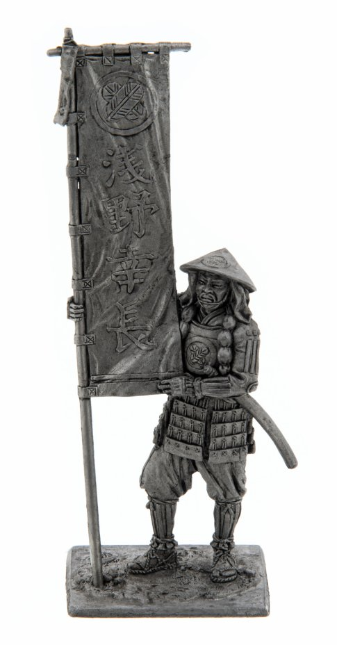 купить Оловянный солдатик, Асигару со знаменем, 1600 год, Россия, 2021