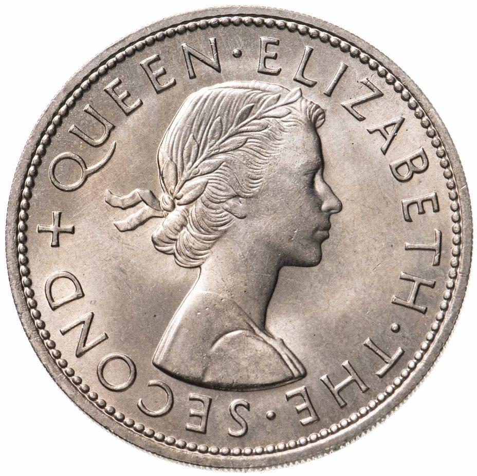 купить Новая Зеландия 1/2 кроны (crown) 1963
