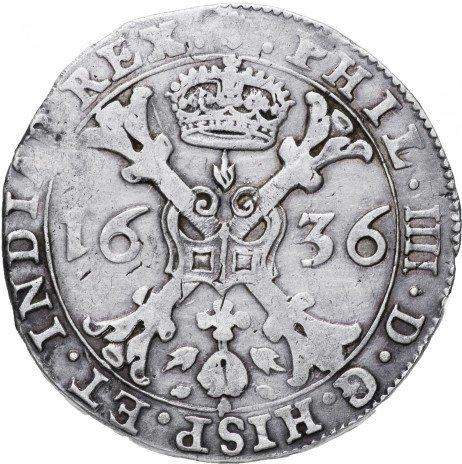 купить Испанские Нидерланды, Брабант 1 патагон 1636