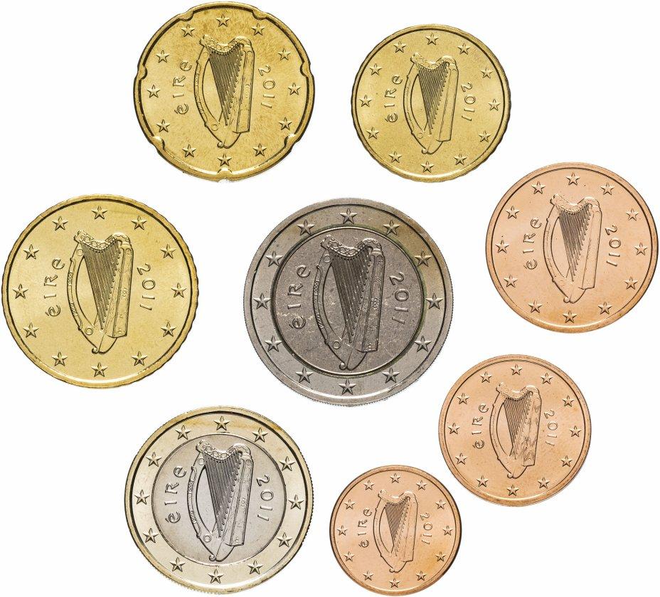 купить Ирландия полный годовой набор евро для обращения 2011 (8 штук, UNC)