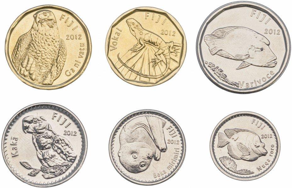купить Фиджи набор монет 2012-2014 (6 штук)