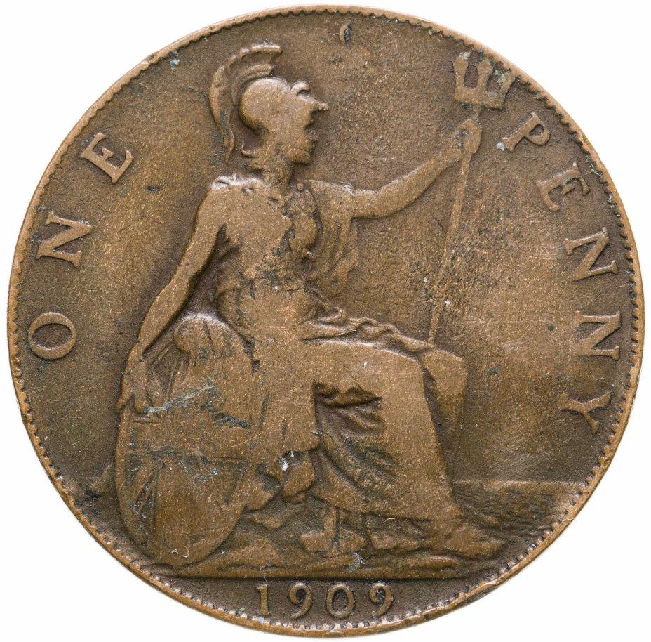купить Великобритания 1 пенни (penny) 1909