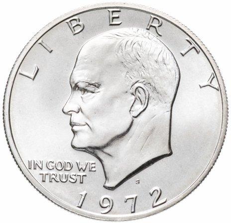 "купить США 1 доллар 1972 ""Эйзенхауэр, серебряный доллар"""