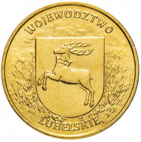 """купить Польша 2 злотых 2004 """"Любельское воеводство(Województwo lubelskie)"""""""