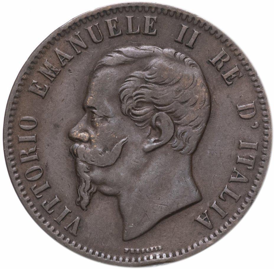 купить Италия 10 чентезимо (centesimi) 1863